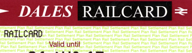 dales railcard slide