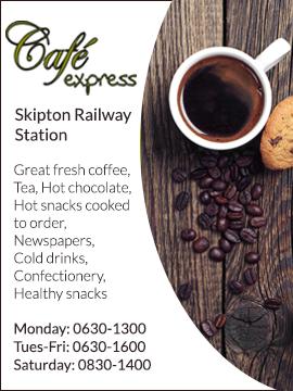 Skipton Station: Cafe Express
