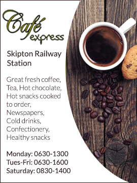 Skipton Station: Cafe Express