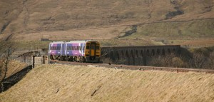 Northern Rail Passenger Train at Ribblehead