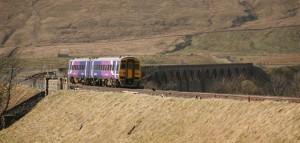 Northern Rail Passenger Train at Ribblehead