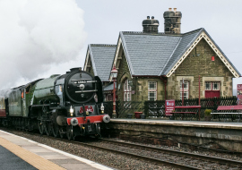 Steam Trains on the Settle Carlisle Railway